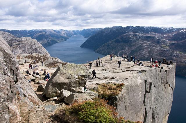 Preikestolen Norge
