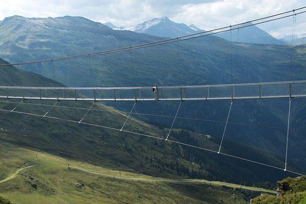 Hängbron på 2300 meters höjd, Stubnerkogel (Bad Gastein)