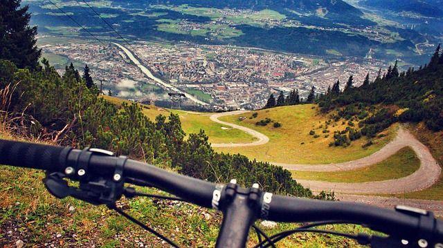 Över 920 km cykelled i Schladming, Österrike