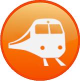 transport tåg ikon