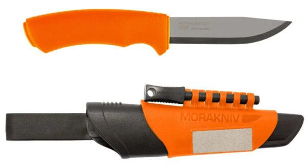 Morakniv Bushcraft Survival, kniv med tändstål