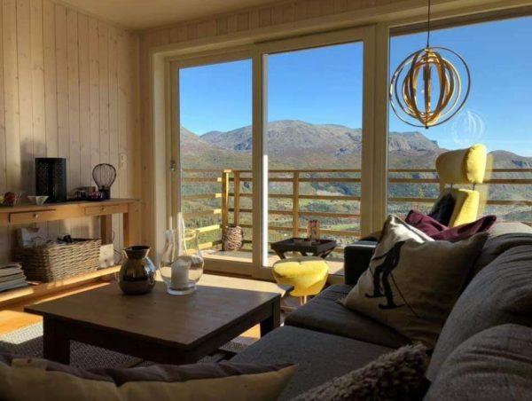 Skarsnuten Panorama, rum med milsvid utsikt